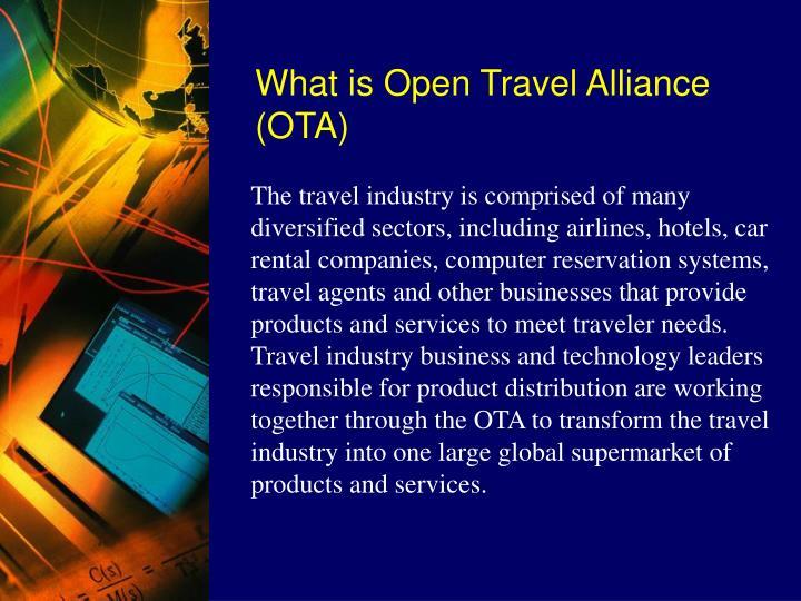 What is Open Travel Alliance (OTA)