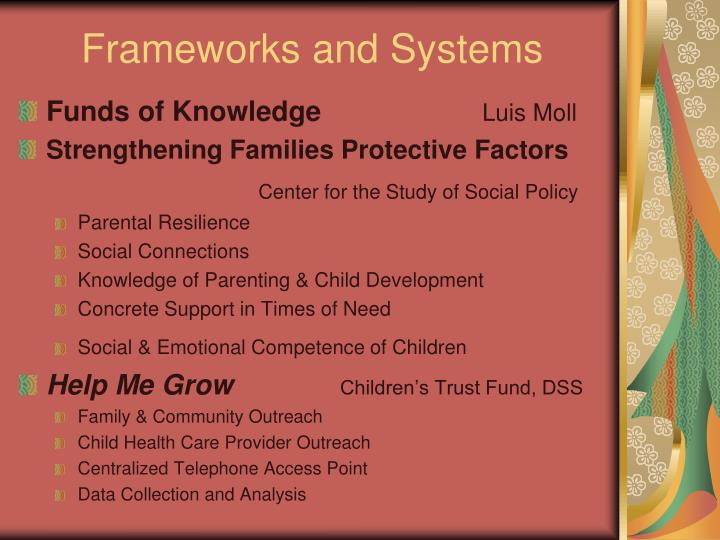 Frameworks and Systems