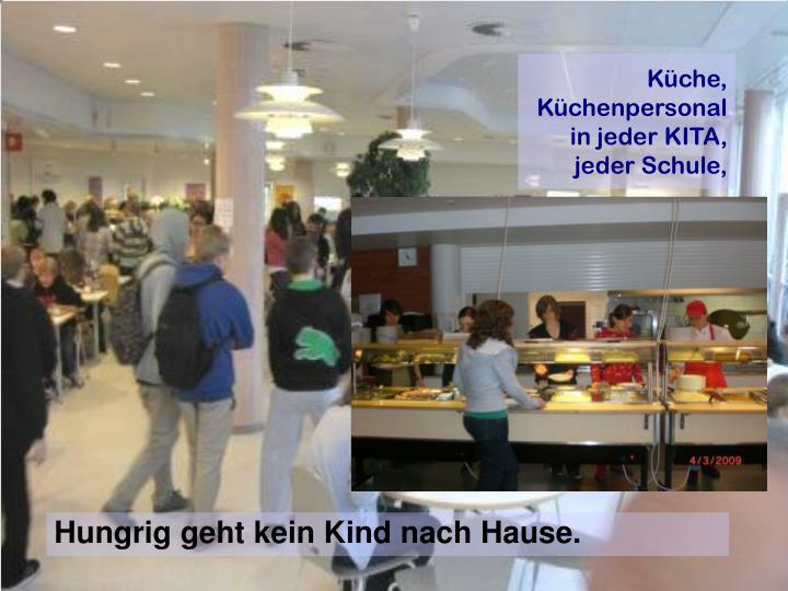 Küche, Küchenpersonal