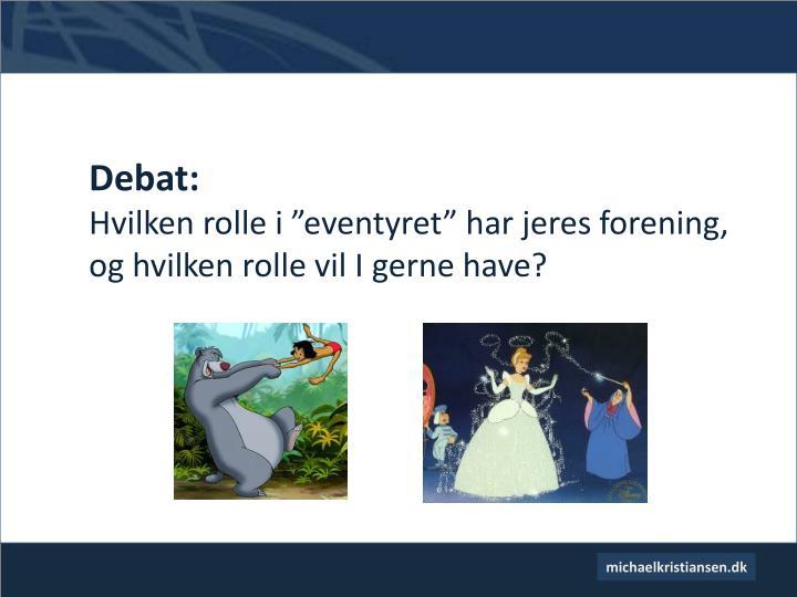 Debat: