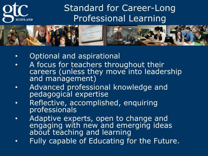 Standard for Career-Long Professional Learning