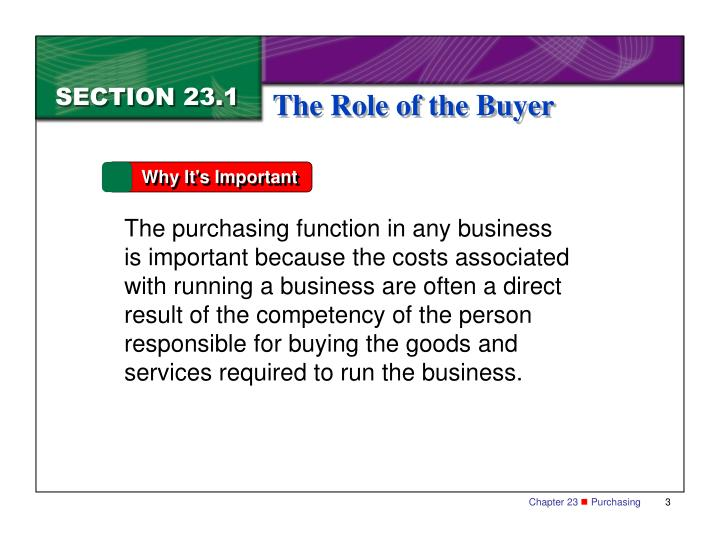 the purchasing function business essay When the purchasing department was established two years ago, both george and vipulabh agreed with the need to centralise this function and place a specialist in charge we will write a custom essay sample on.