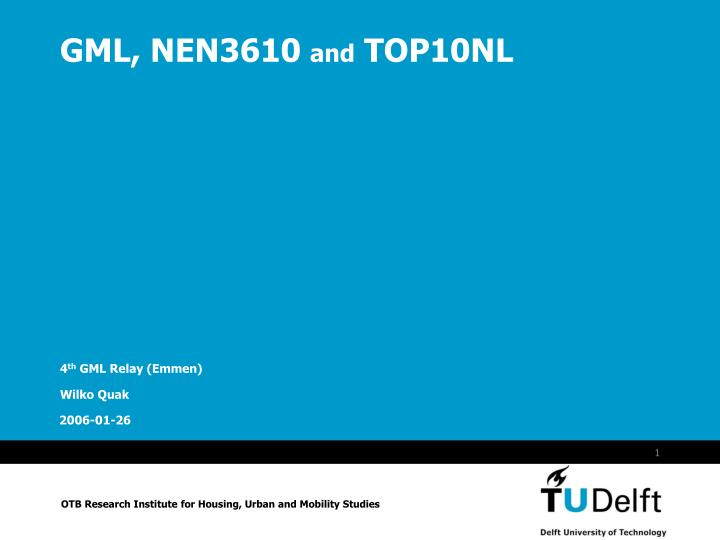 Gml nen3610 and top10nl