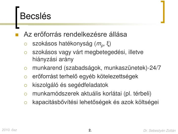 Becsl s