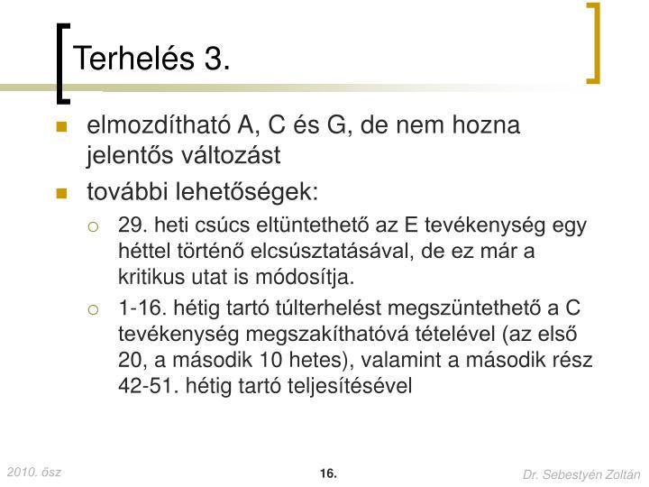 Terhelés 3.