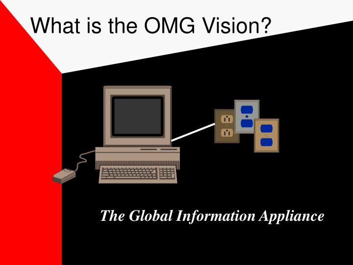 What is the OMG Vision?