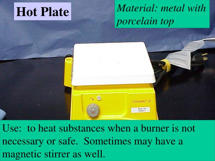 Material: metal with porcelain top