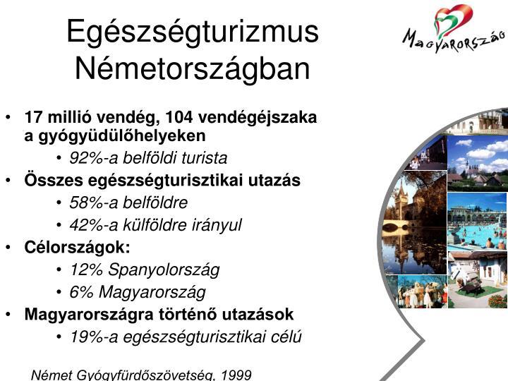 Egészségturizmus Németországban