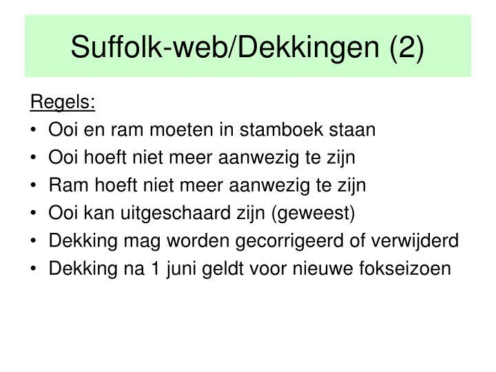 Suffolk-web/Dekkingen (2)