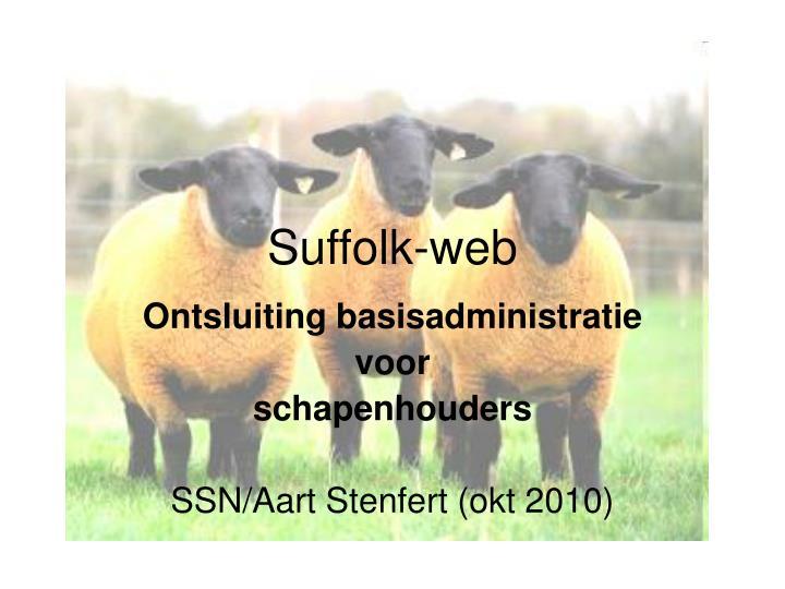 Suffolk web