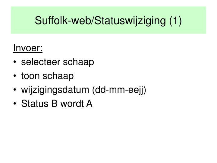Suffolk-web/Statuswijziging (1)