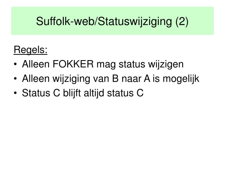 Suffolk-web/Statuswijziging (2)