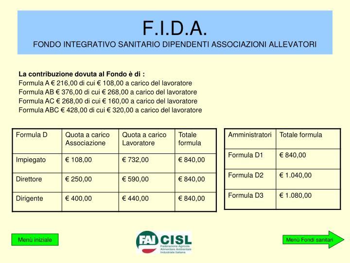 F.I.D.A.