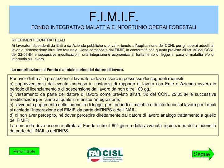 F.I.M.I.F.