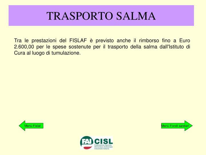 TRASPORTO SALMA