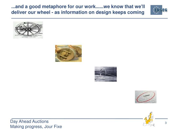 ...and a good metaphore for our work......we know that we'll