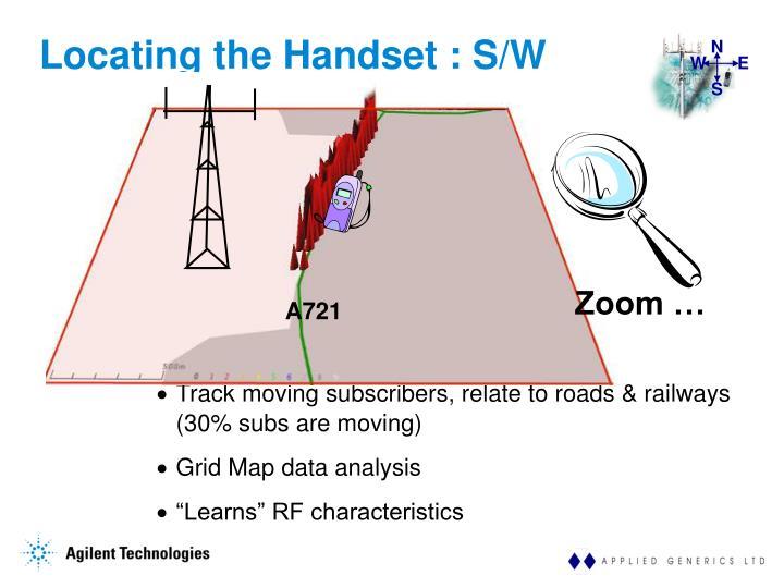 Locating the Handset : S/W Enhancement