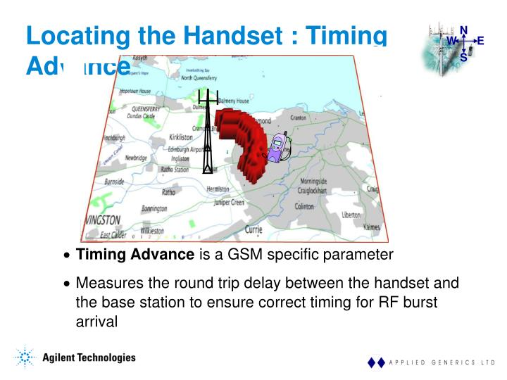 Locating the Handset : Timing Advance