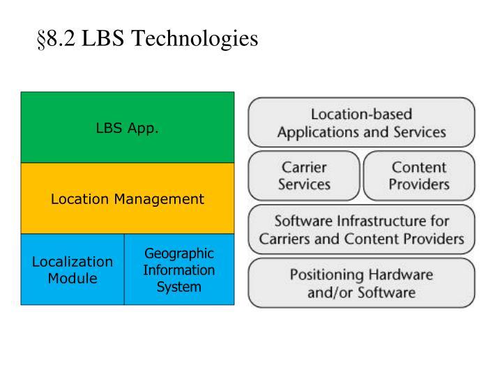 §8.2 LBS Technologies