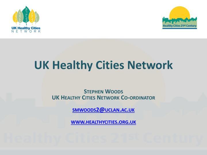 uk healthy cities network