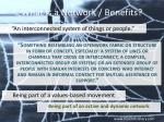 what is a network benefits