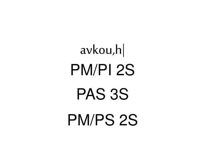 avkou,h|