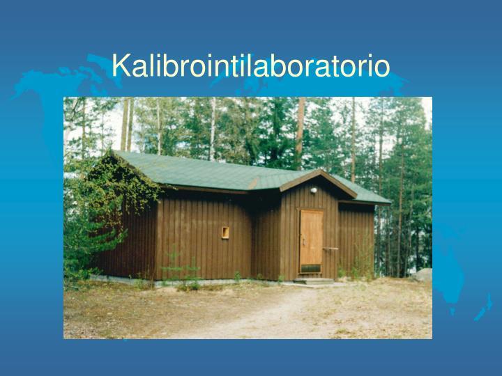 Kalibrointilaboratorio
