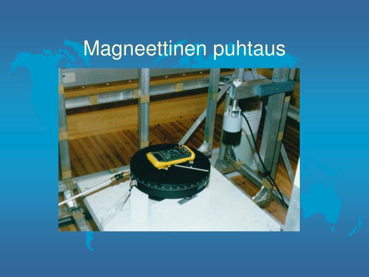 Magneettinen puhtaus