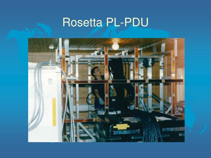 Rosetta PL-PDU