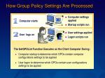 how group policy settings are processed