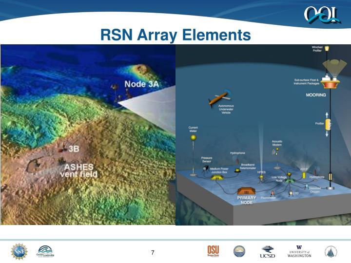 RSN Array Elements