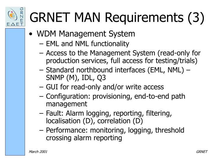 GRNET MAN Requirements (3)