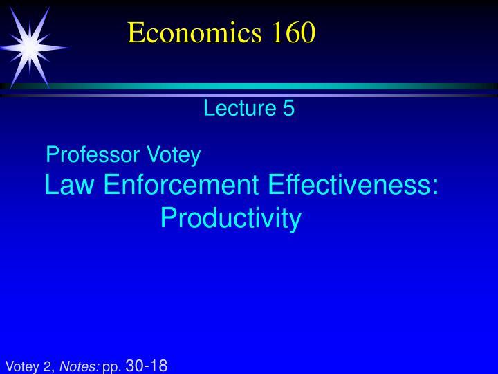 economics 160 n.