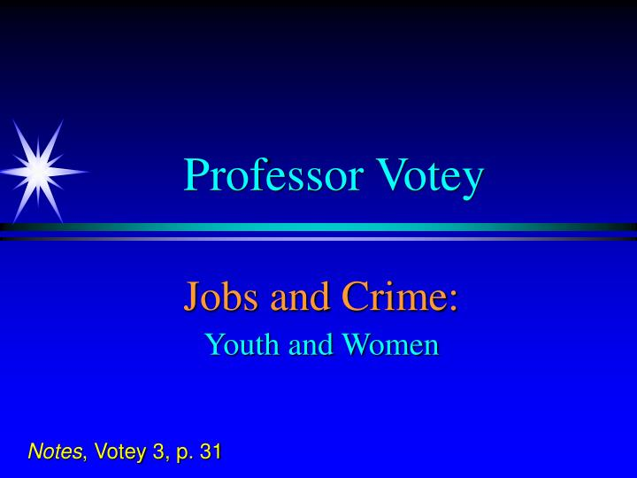 Professor Votey