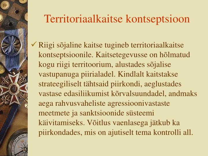 Territoriaalkaitse kontseptsioon
