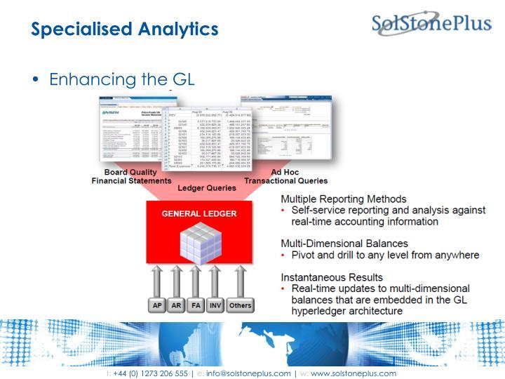 Specialised Analytics
