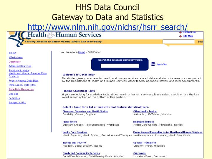 HHS Data Council
