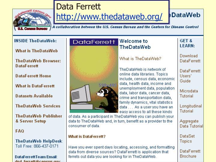 Data Ferrett