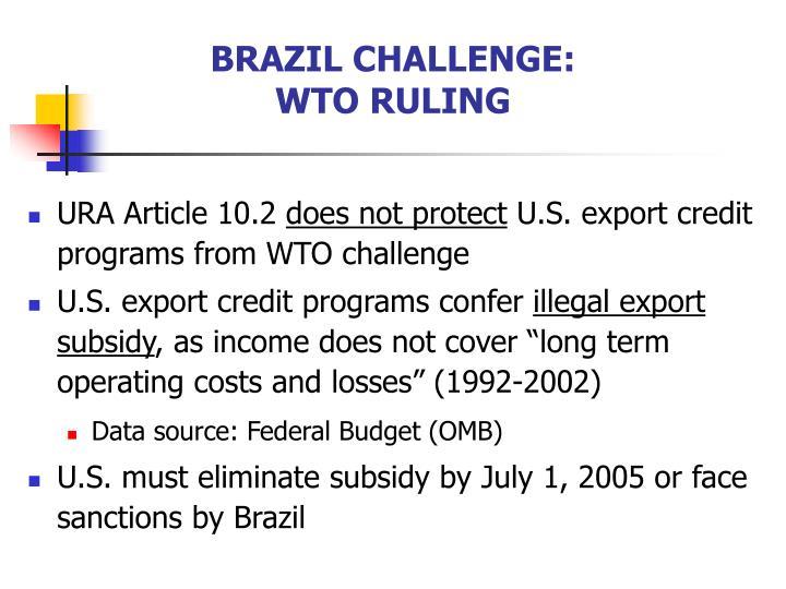 BRAZIL CHALLENGE: