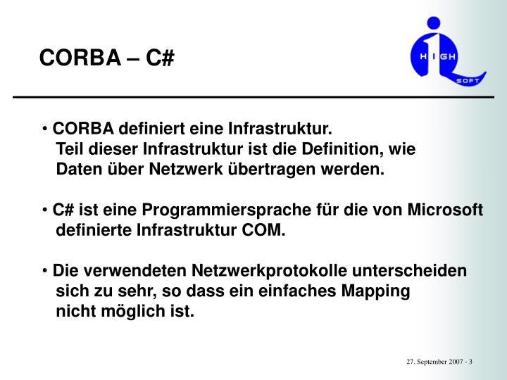 Corba c