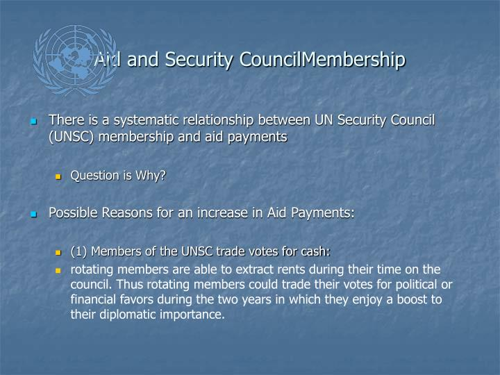 Aid and Security CouncilMembership