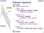 software pipelining