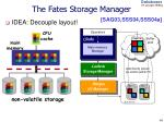 the fates storage manager