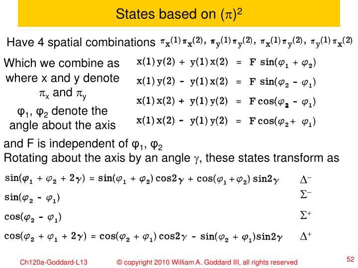 States based on (