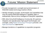 futures mission statement