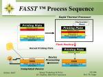 fasst process sequence