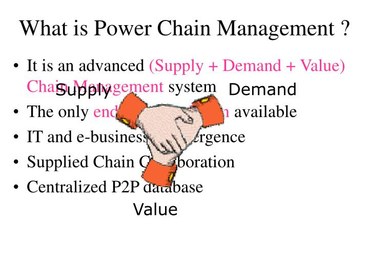 What is power chain management