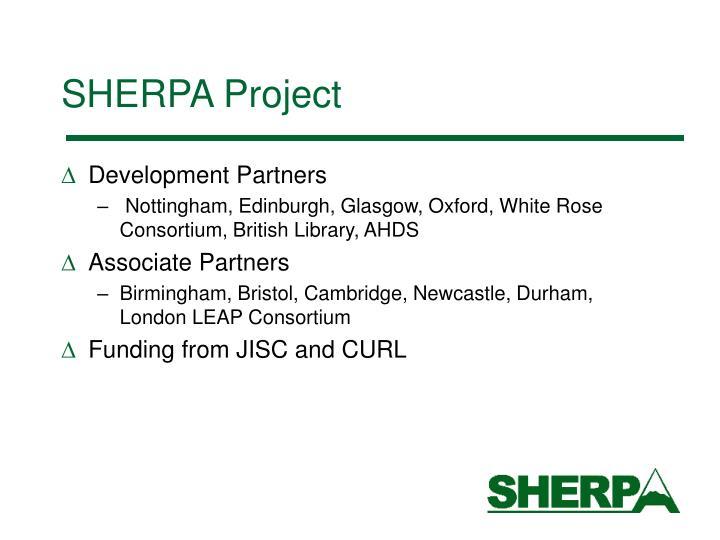 Sherpa project