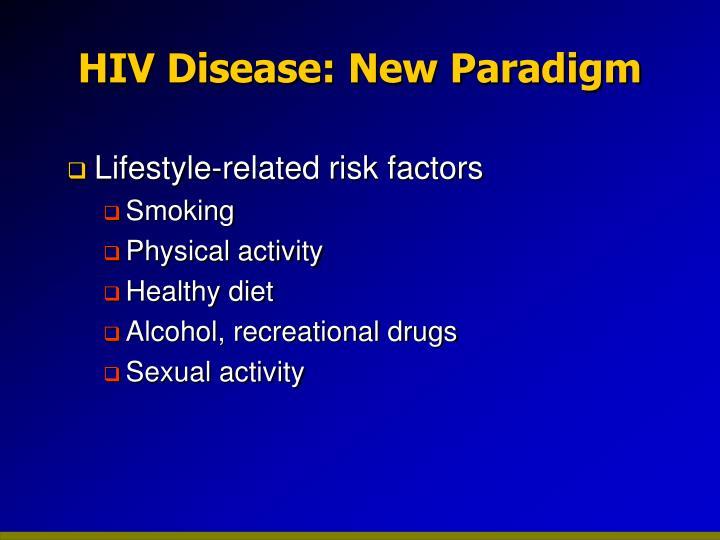 HIV Disease: New Paradigm