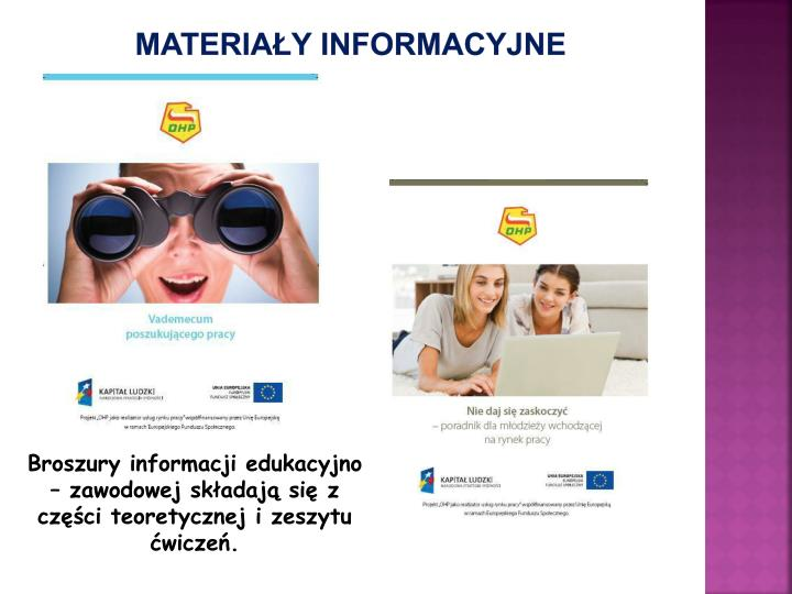 Materiały informacyjne
